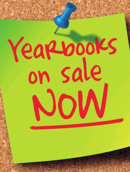 Yearbooks and Senior Ads Now On Sale