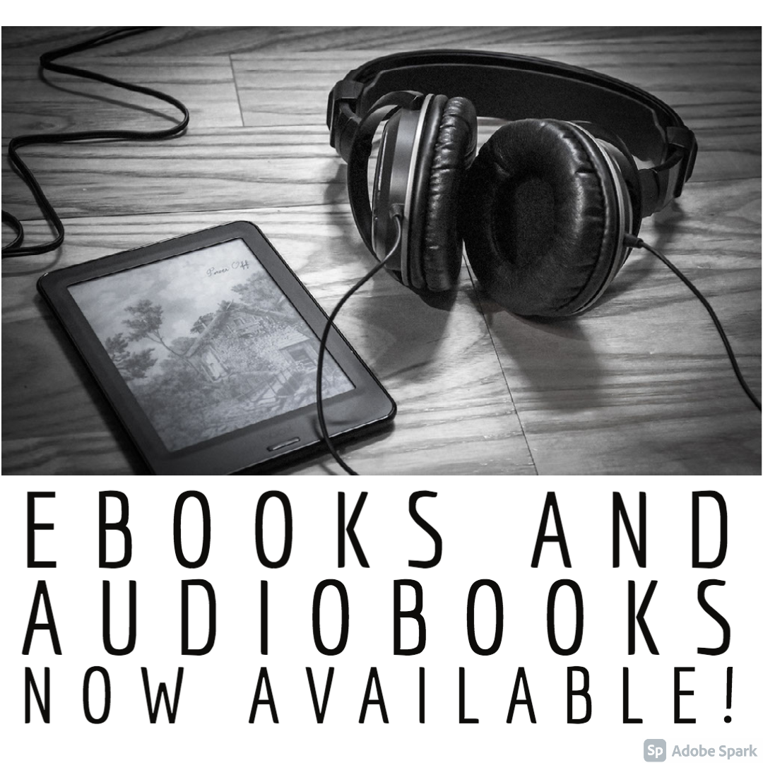 New Ebooks and Audiobooks Now Available