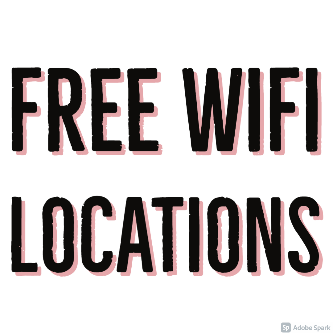 Free Wifi Locations