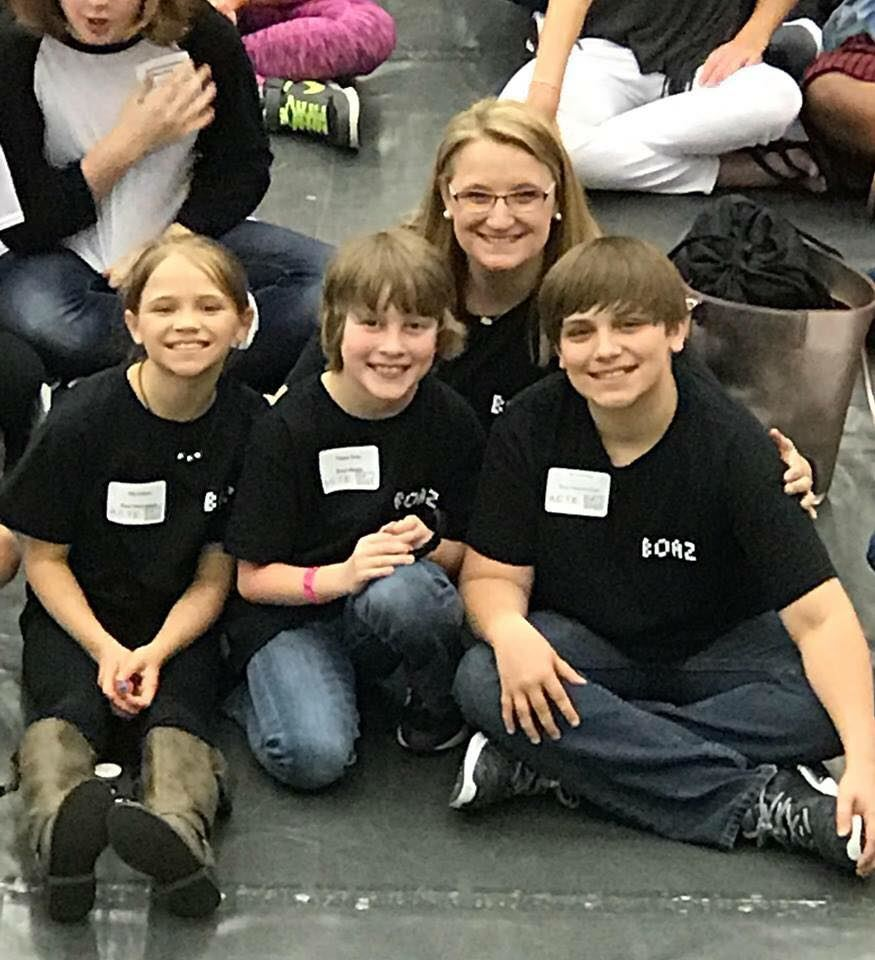We are so proud of Aly Sullivan, Ty Sullivan, and Payne Gray for representing Boaz City Schools at the Alabama State Technology Competition today.  Payne won 3rd place in video production.  Congratulations!