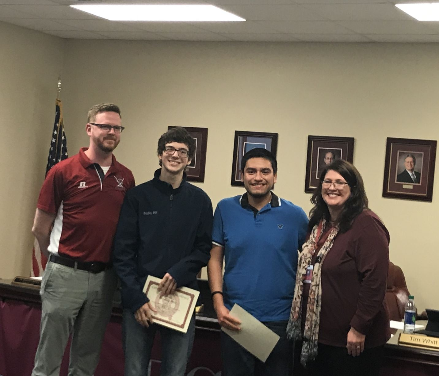 David Dimas and Bradley Wilt were selected for All-State Band.  They are also participating in the Spirit of Atlanta Drum and Bugle Corps.